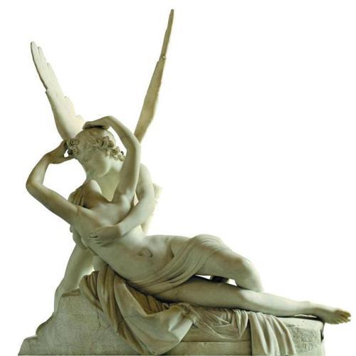 eros y psique escultura